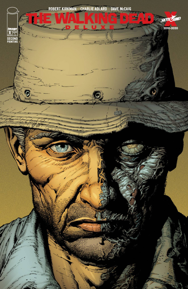 The Walking Dead Deluxe #8 (Finch & McCaig 2nd Printing)