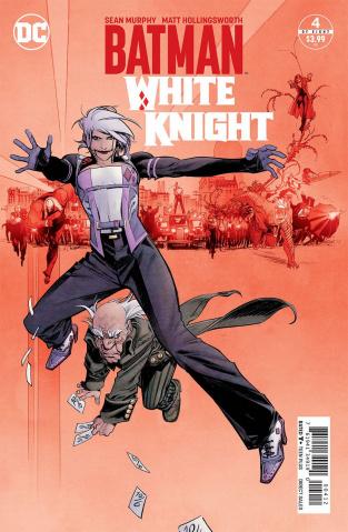 Batman: White Knight #4 (2nd Printing)