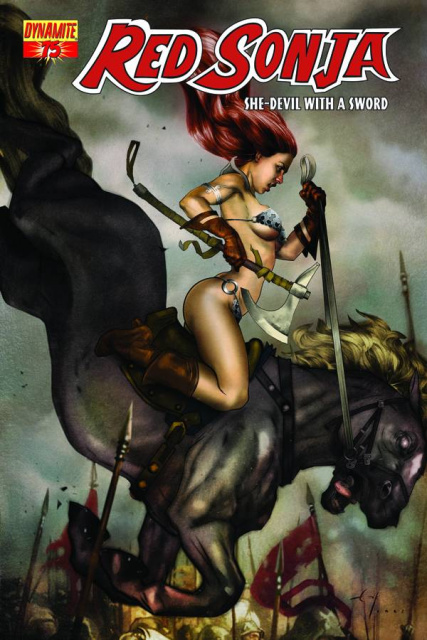 Red Sonja #75 (Jones Cover)