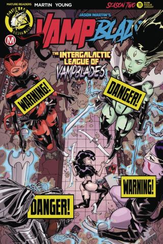 Vampblade, Season Two #11 (Winston Young Risque Cover)