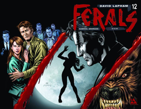 Ferals #12 (Wrap Cover)
