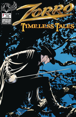 Zorro: Timeless Tales #1 (Yeates Cover)