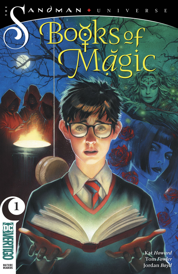 The Books of Magic #1 (Variant Cover)
