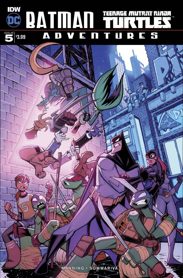 Batman / Teenage Mutant Ninja Turtles Adventures #5