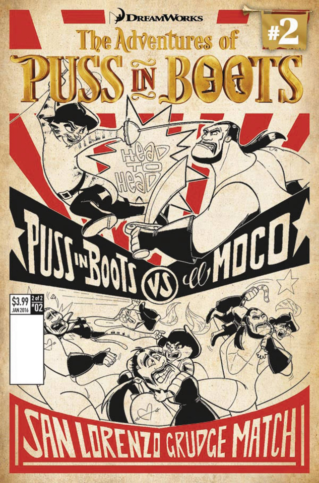 The Adventures of Puss in Boots #2 (Cover B)