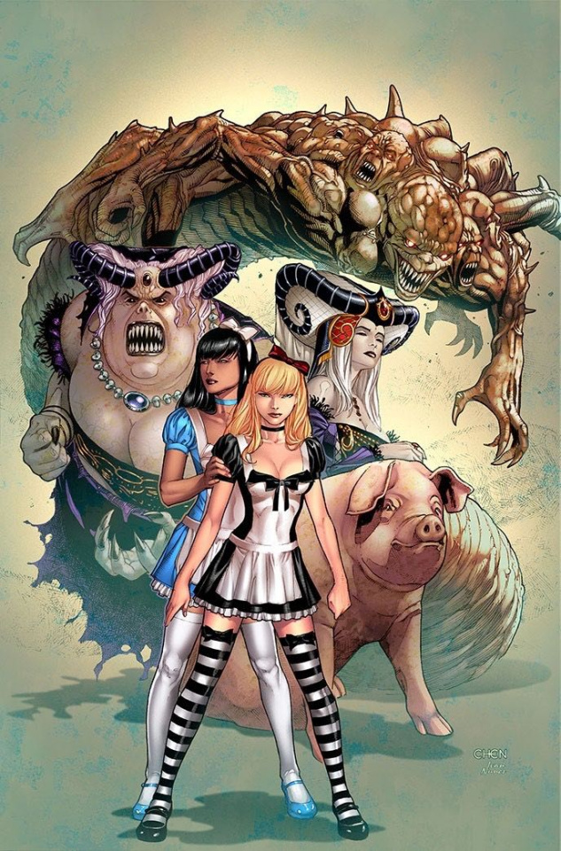 Revenge of Wonderland #6 (Chen Cover)