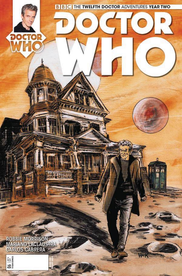 Doctor Who: New Adventures with the Twelfth Doctor, Year Two #6 (Hack Cover)