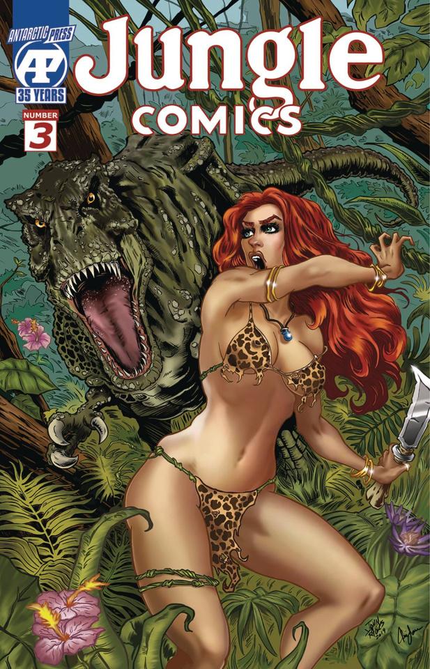 Jungle Comics #3 (Rhodes Cover)