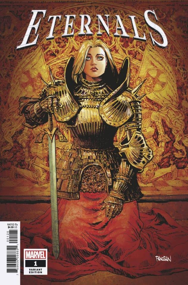 Eternals #1 (Panosian Cover)