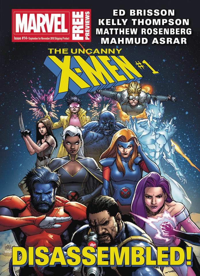 Marvel Previews #16: November 2018 Extras