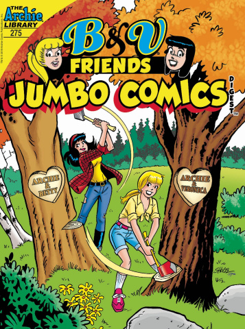 B & V Friends Jumbo Comics Digest #275