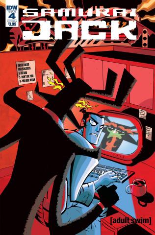 Samurai Jack: Quantum Jack #4 (Oeming Cover)
