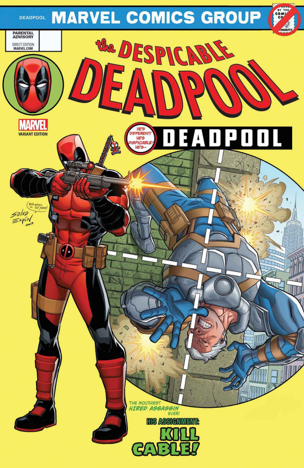 The Despicable Deadpool #287 (Espin Cover)