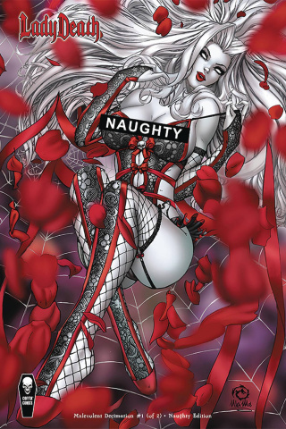 Lady Death: Malevolent Decimation #1 (Naughty Cover)
