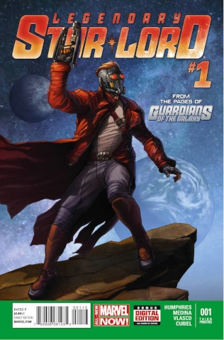Legendary Star-Lord #1 (3rd Printing)