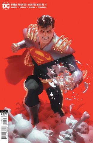Dark Nights: Death Metal #4 (Alex Garner Superboy-Prime Cover)