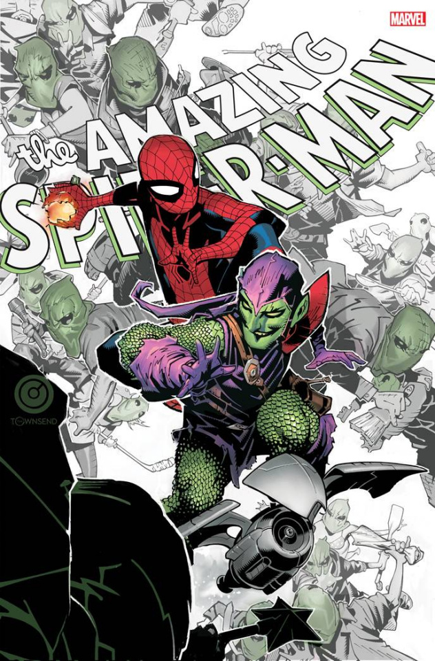 The Amazing Spider-Man #49 (Bachalo Cover)