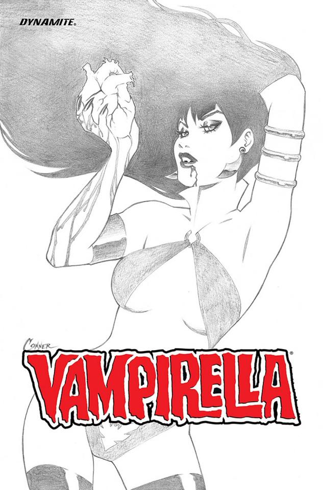 Vampirella: Ascending Evil (B&W Cover)