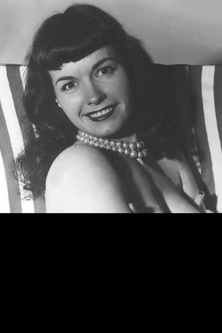 Bettie Page #5 (Black Bag Photo Cover)