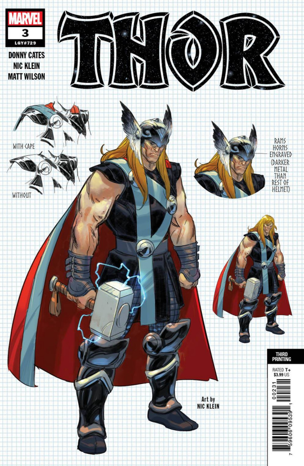 Thor #3 (Klein 3rd Printing)