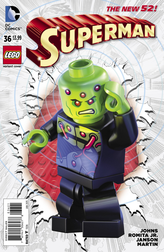 Superman #36 (Lego Cover)