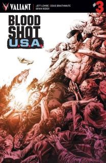 Bloodshot U.S.A. #3 (Braithwaite Cover)