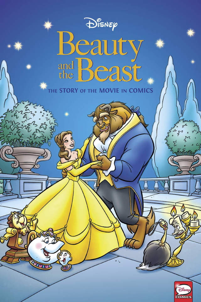 Beauty and the Beast: The Story of the Movie in Comics