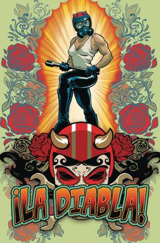 ¡La Diabla! #1 (Powell Cardstock Cover)