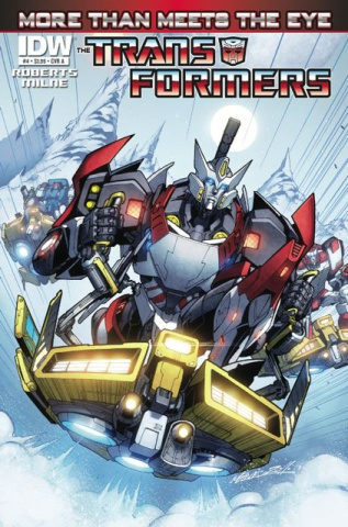 The Transformers: More Than Meets the Eye #4