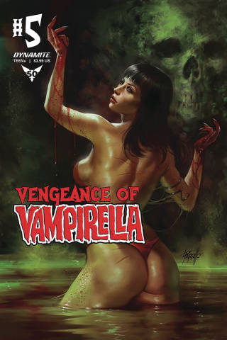 Vengeance of Vampirella #5 (Parillo Cover)