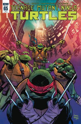 Teenage Mutant Ninja Turtles #65 (10 Copy Cover)