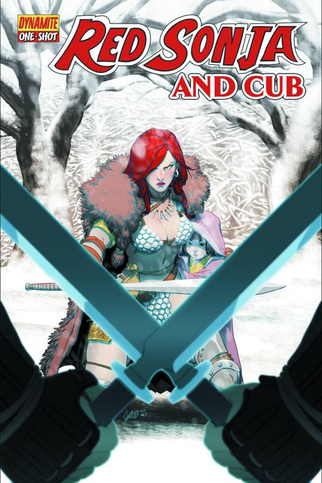 Red Sonja and Cub
