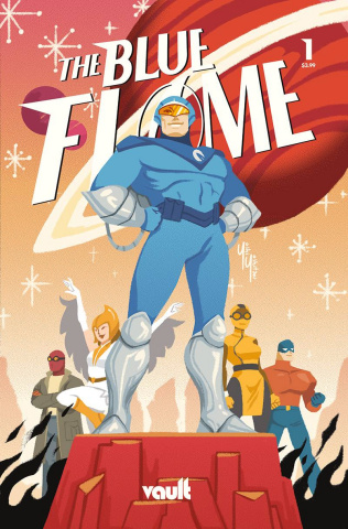 The Blue Flame #1 (Yoshitani Cover)