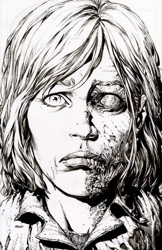 The Walking Dead Deluxe #12 (25 Copy Raw 2nd Printing)