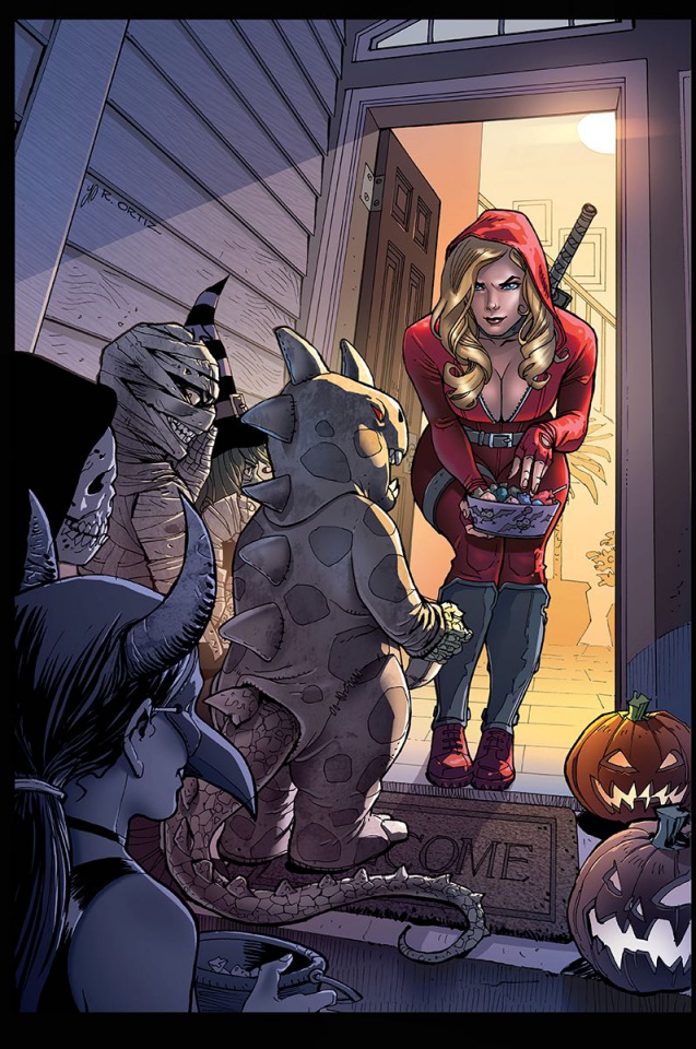 Grimm Fairy Tales Halloween Special 2016 (Ortiz Cover)