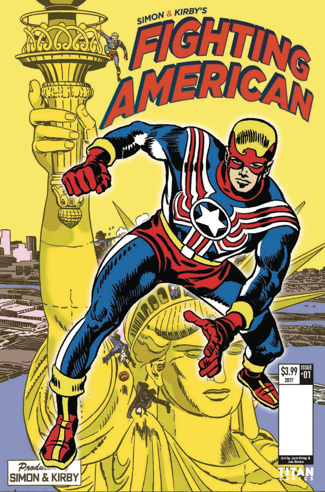 Fighting American: The Ties That Bind #3 (Kirby Cover)
