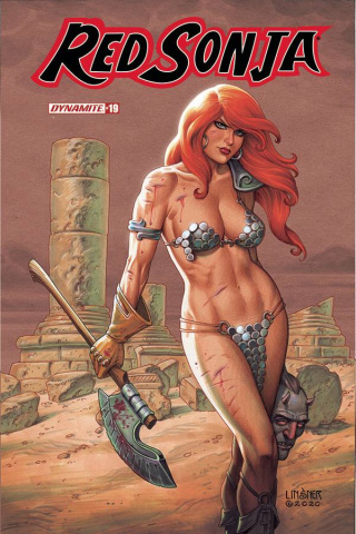 Red Sonja #19 (Linsner Cover)