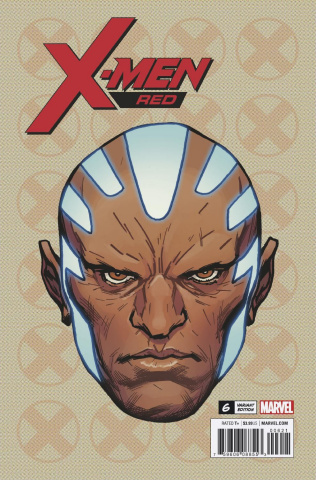 X-Men: Red #6 (Charest Headshot Cover)