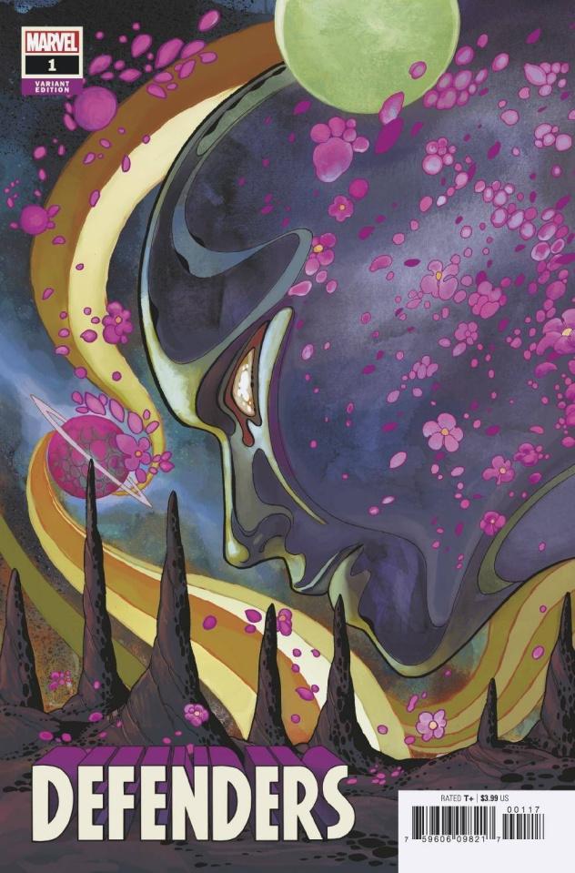 Defenders #1 (Momoko Silver Surfer Black Cover)