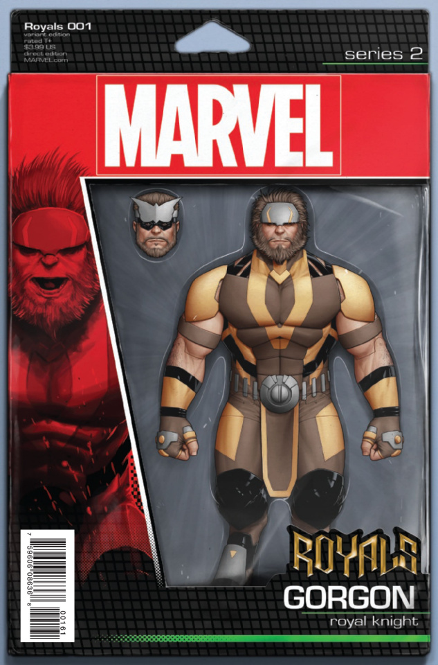 Royals #1 (Christopher Action Figure Cover)