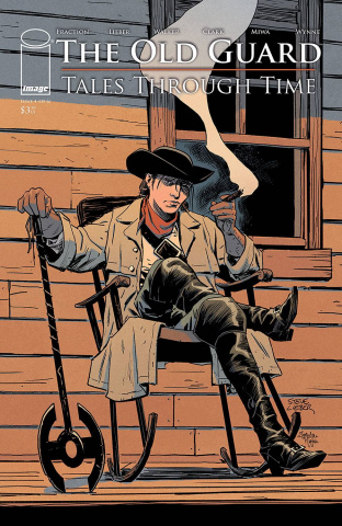 The Old Guard: Tales Through Time #4 (Lieber Cover)