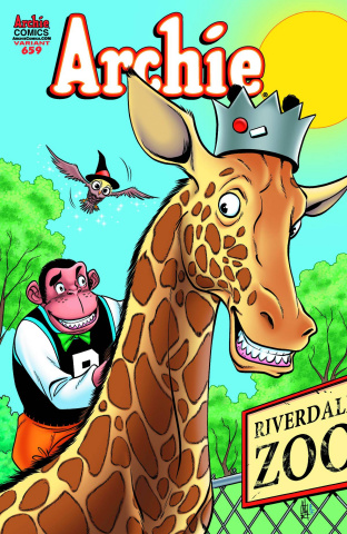 Archie #659 (Zoo Cover)