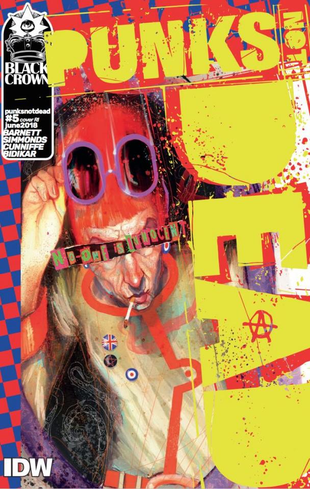 Punk's Not Dead #5 (10 Copy Cover)