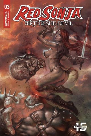 Red Sonja: Birth of the She-Devil #3 (Parrillo Cover)