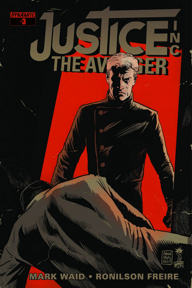 Justice Inc.: The Avenger #4 (Francavilla Cover)