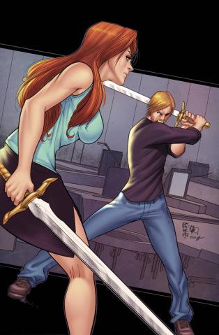 Grimm Fairy Tales #106 (Cafaro & Schaffer Cover)