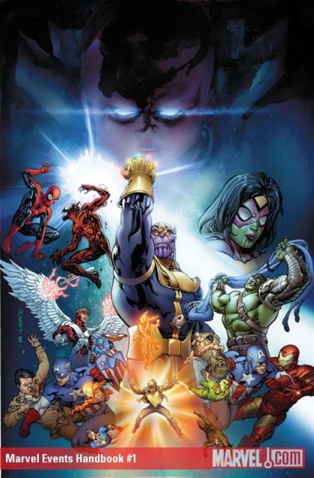 Marvel Events Handbook #1