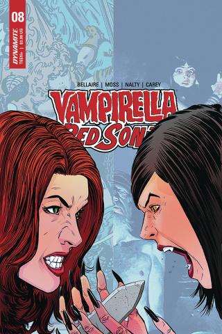 Vampirella / Red Sonja #8 (Moss Cover)