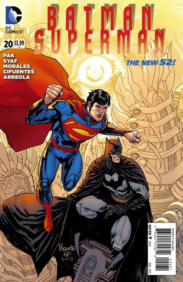 Batman / Superman #20 (Variant Cover)