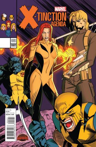 X-Tinction Agenda #2 (Anka Cover)